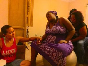 black midwife home birth doula